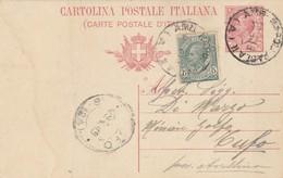 1919. Annullo Ambulante AMB NAPOLI PAOLA II (A), Su Cartolina Postale - Storia Postale