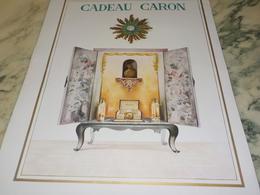 ANCIENNE PUBLICITE PARFUM CADEAU CARON 1951 - Perfumes & Belleza