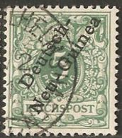 New Guinea German 1897 German Office 5 Pf Germany Cancelled 2005.0211 - Colonie: Nouvelle Guinée
