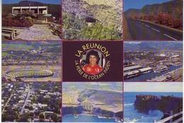 Ile De La Reunion Ed Reporter Photo Chan. 9 Vues. Mairie De La Plaine Des Palmistes, Creole, St Paul...Stade Olympique - La Réunion