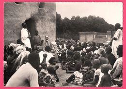Cp Dentelée - Koudougou - Mgr BRETAULT Eveque Visite Pastorale Cathéchistes - Haute Volta - Animée - St - Pères Blancs - Burkina Faso