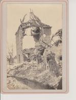 62 - NEUVILLE SAINT VAAST - PHOTO SUR CARTON 160x105 - CAMPAGNE 1915 REGIMENT DE ZOUAVES - Autres Communes