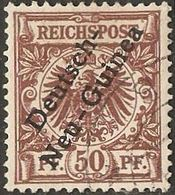 New Guinea German 1897 German Office 50 Pf Germany Cancelled 2005.0215 - Colony: German New Guinea