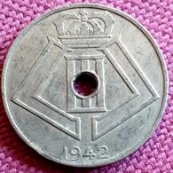 BELGIË : 10 CENTIMES  1942 FL/FR KM 126 Almost UNC - 1934-1945: Leopoldo III