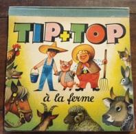 TIP TOP àla Ferme - Kubasta - Del Ducas Paris - Livre Animé - Pop Up - 1961 - COMPLET  , * VP 112 - Livres, BD, Revues