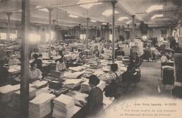 Saint-Die - Atelier De Cartes Postales Weick - Vue D'une Partie De Nos Ateliers De Façonnage (pliage Du Papier) - Saint Die