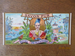 ROYAL PRINCE DE YEDDO PARIS SAVON PUR N° 372 - Etiquettes