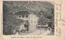 Lostallo Mit Hotel Z. Post Im Misoxer Thal - GR Grisons