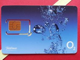 SLOVAKIA SIM GSM Telefonica O2 Cut Chip - Numbers Back USIM RARE MINT (BH1219b - Slowakei