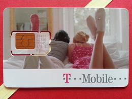 SLOVAKIA SIM GSM T MOBILE Couple Cut Chip - Numbers Front USIM RARE MINT (BH1219b - Slowakei