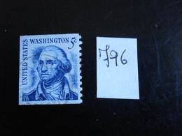U.S.A. 1965-66 - George Washington (dentelé 1 Côté)  - Y.T. 796 - Oblitéré - Used - Gebraucht