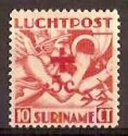Suriname NVPH Nr Luchtpost 23 Postfris/MNH Rode Kruis, Red Cross, La Croix Rouge, Airmail 1942 - Surinam ... - 1975
