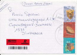 Argentina Registered Cover Sent To Denmark 2-1-2008 - Storia Postale