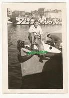 WW2 PHOTO ORIGINALE Soldat Allemand Kriegsmarine Navire Boot Camouflage LE HAVRE SEINE MARITIME 1940 - 1939-45