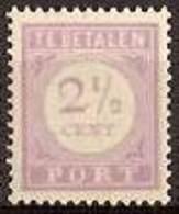 Suriname NVPH Nr Port 20 Postfris/MNH Cijfer En Waarde In Lila, Tax, Taxe 1913 - Surinam ... - 1975