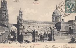 PALERMO-LA CATTEDRALE-CARTOLINA VIAGGIATA IL 21-5-1902 - Palermo