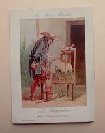 Chromo 11,5 X 16 Cm - CRIS DE PARIS   - Le Rémouleur Par Boucher - AU BON MARCHE - Au Bon Marché