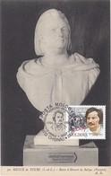 Carte Maximum  Littérature Moldavie 1999 Victor Hugo - Moldawien (Moldau)
