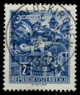 ÖSTERREICH DAUSERSERIEN BAUWERKE Nr 1256y ZENTR X7D5CD6 - 1945-60 Oblitérés