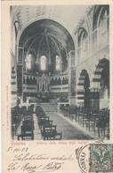 PALERMO-CHIESA DEGLI INGLESI-INTERNO-CARTOLINA VIAGGIATA IL 5-11-1902 - Palermo