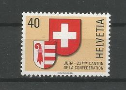 Switzerland 1978 Jura Y.T. 1071 ** - Neufs