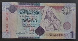 RS - Libya 1 Dinar Banknote 2004 - Libia