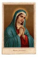Image Pieuse Mater Dolorosa- Format : 6x9.5 Cm - Devotion Images