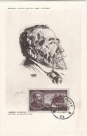 Carte Maximum  Littérature Pologne 1964 Joseph Conrad - Cartes Maximum