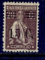 ! ! Portugal - 1928 Ceres W/OVP 15 C - Af. 460 - MH - 1910-... Republik