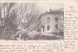 CH Meggen - Gruss Aus Vordermeggen - Suisse - Carte Postale - Timbre Et Cachet 1902 - Villa Pension St Charles - LU Lucerne