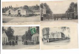 Militaria Lot 1 De 4 Cpa Casernes - Casernas