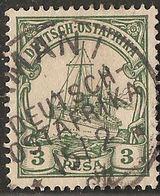 Deutsch Ost-Afrika 1901 3 Pesa Hohenzollern Ship 2005.0228 German East Cancel AMANI - Colonie: Afrique Orientale