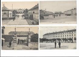 Militaria Lot 3 De 4 Cpa Casernes - Casernas