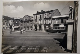 Sambiase (Lamezia Terme) - Piazza Fiorentino - Viaggiata - 1963 - Bus, Pullman, Corriera, Autobus - Italy