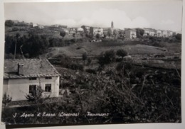 Sant'Agata D'Esaro (Cosenza) - Panorama Da Ovest - 1970 - Viaggiata - Italy