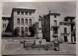 Sant'Agata D'Esaro (Cosenza) - Piazza Con Monumento - 1971 - Viaggiata - Italy