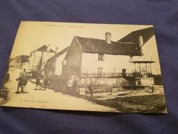 Cp 39 Ranchot Rue Principale Animee Voyage Mars 1919 - Autres Communes