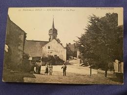Environs De Dole Rochefort  En Terre La Place Animee  On Voyagee - Autres Communes