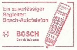 EMA METER STAMP FREISTEMPEL BOSCH AUTO TELEPHON CAR TELECOM - Telecom