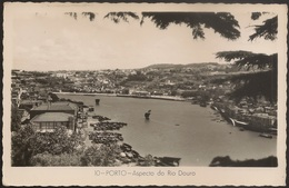 Postal Porto - Aspecto Do Rio Douro - Barcos Rabelos (Ed. Colecção Dulia, Nº 10) - Porto