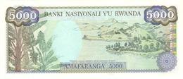 RWANDA P. 22 5000 F 1988 UNC - Rwanda