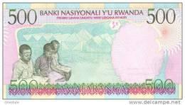 RWANDA P. 26a 500 F 1998 UNC - Rwanda