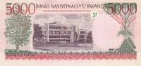 RWANDA P. 28a 5000 F 1998 UNC - Rwanda