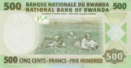RWANDA P. 30 500 F 2008 UNC - Rwanda