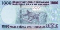 RWANDA P. 35 1000 F 2008 UNC - Rwanda