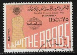 Libya Scott #729 Used Clenched Fist, 1978 - Libia