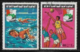 Libya Scott #694,698 Used Arab School Games, 1977 - Libia