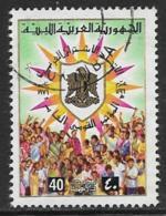 Libya Scott #592 Used National Peoples Congress, 1976 - Libia
