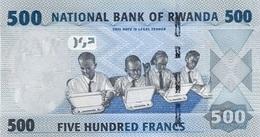 RWANDA P. 38 500 F 2013 UNC - Rwanda