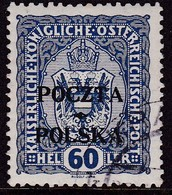 POLAND 1919 Krakow Fi 42 Used Signed Petriuk I-89 - ....-1919 Übergangsregierung